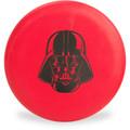 Discraft D CHALLENGER - STAR WARS Design Red Darth Vader Headshot Disc Golf Putter Top View
