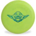 Discraft D CHALLENGER - STAR WARS Design Green Yoda Headshot Disc Golf Putter Top View