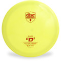 Discmania S-LINE CD2 Driver Golf Disc Yellow Front View