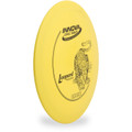 Innova DX LEOPARD - SUPER LIGHT Driver Golf Disc Yellow Angled Top View