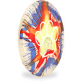 Hero Disc Super Sonic 215 Ice Dye Top Dye Canine Flying Disc - Asst Dyes Angled Top View