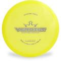 Dynamic Discs LUCID VERDICT Mid-Range Top View Yellow