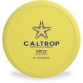 Latitude 64 ZERO HARD CALTROP Putter & Approach Top View Yellow