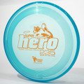 Hero Disc SUPER HERO Dog Frisbee 235mm Canine Flying Disc Blue Top View
