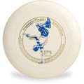Discraft SKY-STYLER Freestyle Disc - Custom FPA 2020 Design White Top View