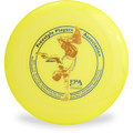Discraft SKY-STYLER Freestyle Disc - Custom FPA 2020 Design Yellow Top View
