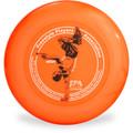Discraft SKY-STYLER Freestyle Disc - Custom FPA 2020 Design Orange Top View