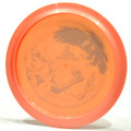 Discraft Raptor (Big Z) Orange Bottom View