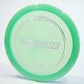 Top view of a green Discraft Vulture (Z-Line)