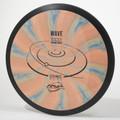 MVP Cosmic Neutron WAVE Orange-Blue Swirl Top View
