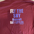 DISCRAFT FLY THE SKY SHORT SLEEVE T-SHIRTS