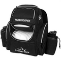 Paratrooper Backpack Disc Golf Bag - Black
