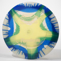 Innova Firestorm (I-Dyed Champion) Clear w Blue Green Top View