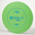 Prodigy Ace Line D Model OS (Base Grip) Green Top View