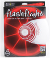 Nite Ize FLASHFLIGHT - LED Light Up Flying Disc - front view of red disc in box