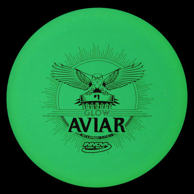 INNOVA DX GLOW AVIAR DISC GOLF PUTTER Glow