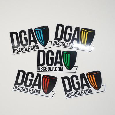 DGA Sticker - DiscGolf.Com Design