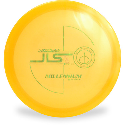 Millenium Q JLS Disc Golf Driver Orange Top View