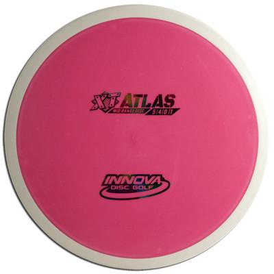 INNOVA XT PRO ATLAS DISC GOLF MID-RANGE OVERMOLD, pink/white