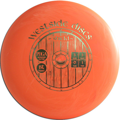 WESTSIDE BT HARD SHIELD DISC GOLF PUTTER