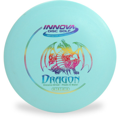 Innova DX Dragon Disc Golf Driver Floats in Water! Front View