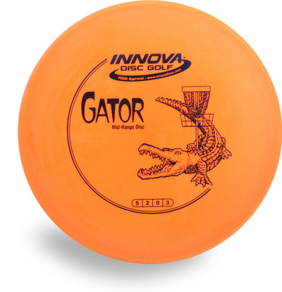 Innova DX GATOR Overstable Mid-Range Golf Disc - front view
