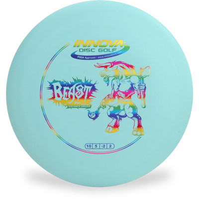 Innova DX BEAST Disc Golf Driver Blue Top View