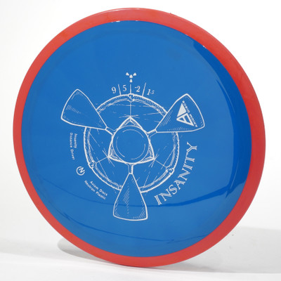 Axiom Insanity (Neutron) Blue Red Top View