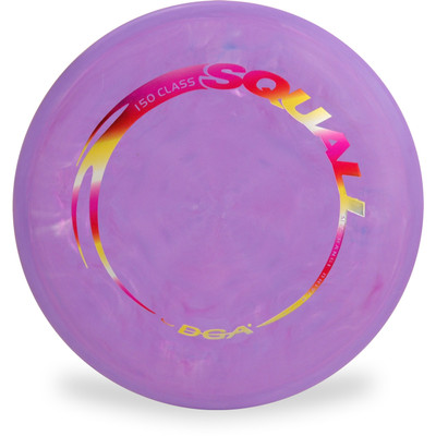 DGA RDGA LINE SQUALL - 150 Class Lightweight Mid-Range Golf Disc Top View