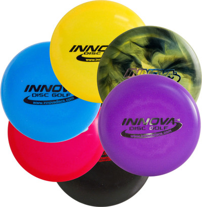 INNOVA DISC GOLF MINI 6 PACK - SET OF SIX MINIS
