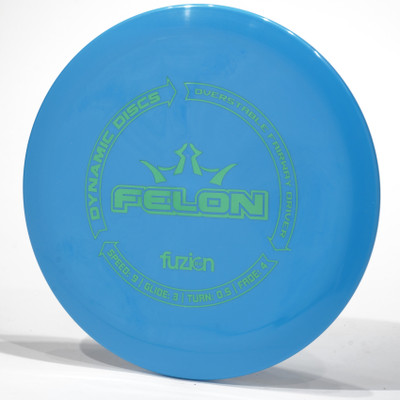 Dynamic Discs Felon (BioFuzion) Blue Top View