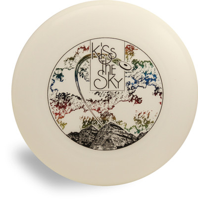 DISCRAFT GLOW ULTRA STAR - KISS THE SKY CUSTOM DESIGN ULTIMATE FRISBEE DISC