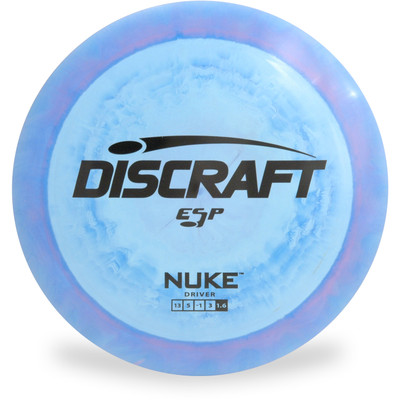 Discraft ESP Nuke Disc Golf Driver Front View