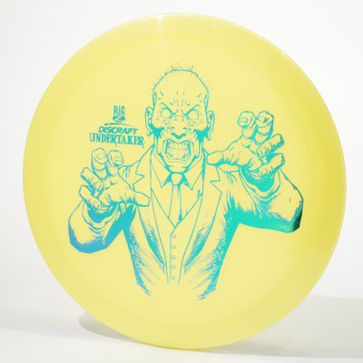 Discraft Undertaker (Big Z) Yellow Top View