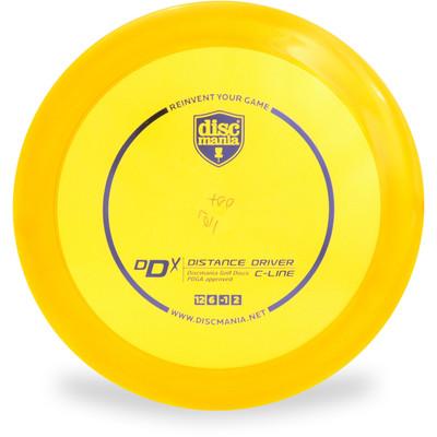 Discmania C DDX Disc Golf Driver Orange Top View