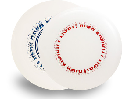WHAM-O HIGH RIGIDITY FREESTYLE FRISBEES 2 PACK - SET OF 82E MOLD + 100 MOLD - ASST COLORS