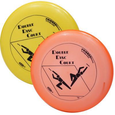 Wham-O DDC Frisbees (2 Pack) For Double Disc Court Game