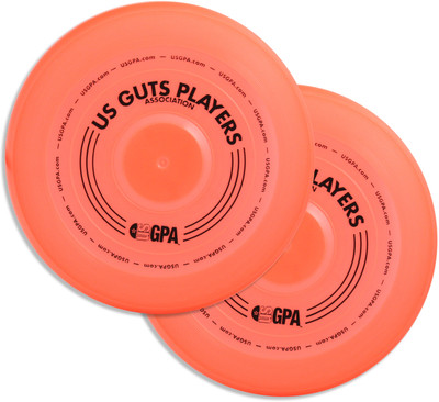 Wham-O GUTS PRO FRISBEE Mold 15 - 2 Pack - Set of Two Discs For Fun Guts Game