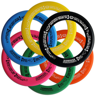 Whiz Ring Freestyle Flying Disc Six Pack - Assorted Colors