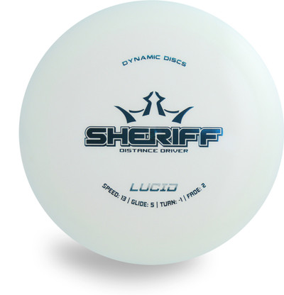 DYNAMIC LUCID SHERIFF DISC GOLF DRIVER