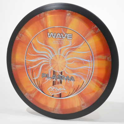 MVP Wave (Plasma) Orange Swirl Top View