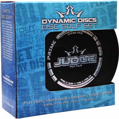 DYNAMIC DISCS PRIME BOX SET - DISC GOLF 3 PACK + BAG