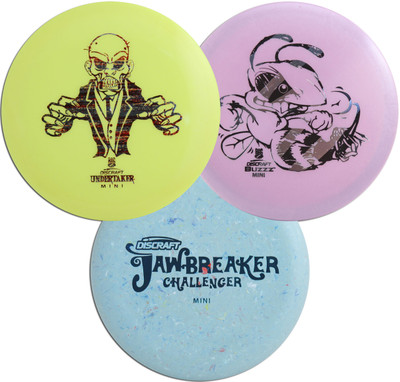 Discraft Mini Marker Disc 3 Pack Ì´Ì_ÌÎ̝ÌÎÌ¥ Set of Three Throwing Minis