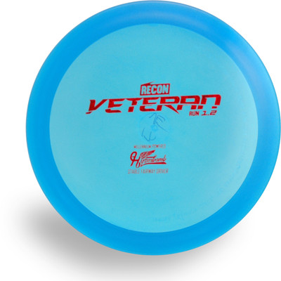 HYZER BOMB RECON VETERAN DISC GOLF DRIVER