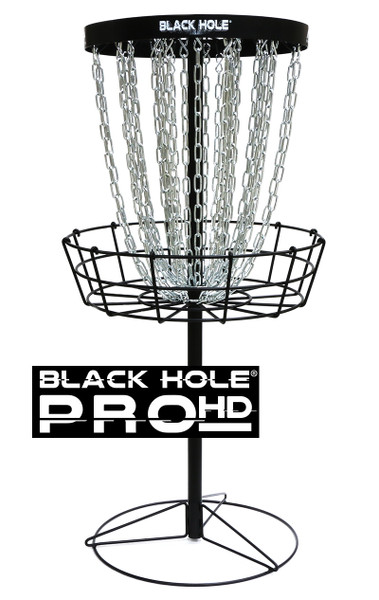 MVP BLACK HOLE PRO HD DISC GOLF BASKET