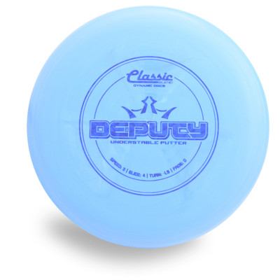 DYNAMIC CLASSIC BLEND DEPUTY DISC GOLF PUTTER