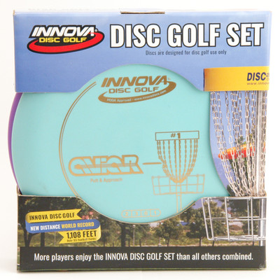 Innova DISC GOLF STACK PACK - Set OF 3 DX Golf Discs - front view