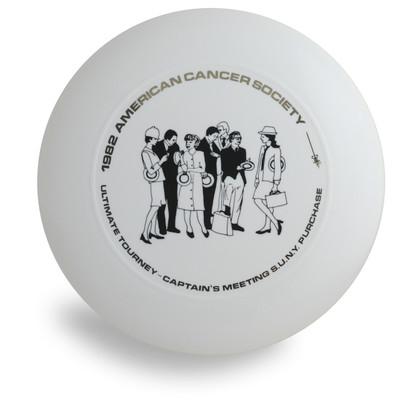 DISCRAFT ULTRA STAR - 1982 AMERICAN CANCER SOCIETY PRE-RINGS 175 GRAM ULTIMATE FRISBEE