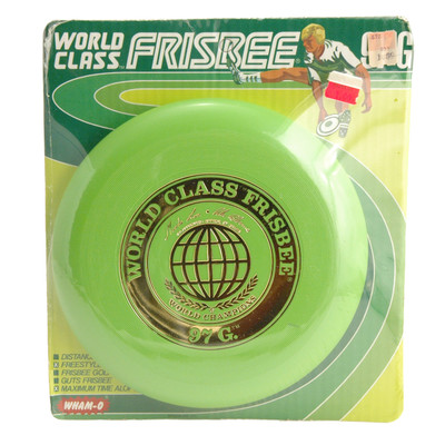 ORIGINAL WHAM-O 97G WORLD CLASS FRISBEE GREEN