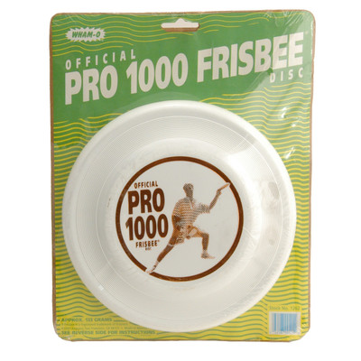 ORIGINAL WHAM-O PRO 1000 FASTBACK FRISBEE IN ORIGINAL PACKAGING
